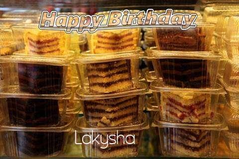 Happy Birthday to You Lakysha