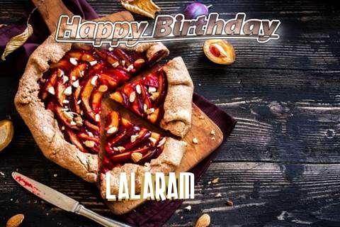 Happy Birthday Lalaram Cake Image