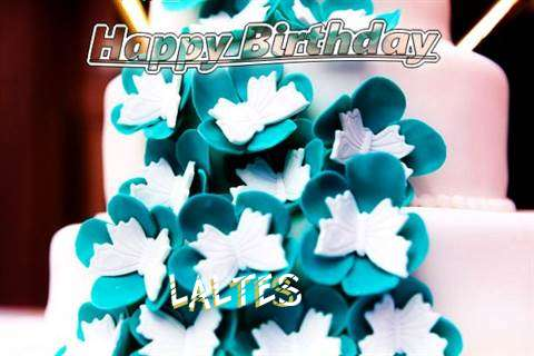 Birthday Wishes with Images of Laltes