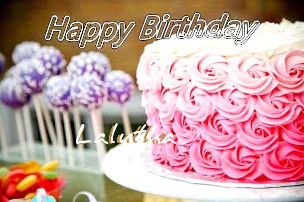 Happy Birthday Lalutha