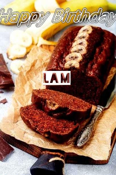 Happy Birthday Cake for Lam
