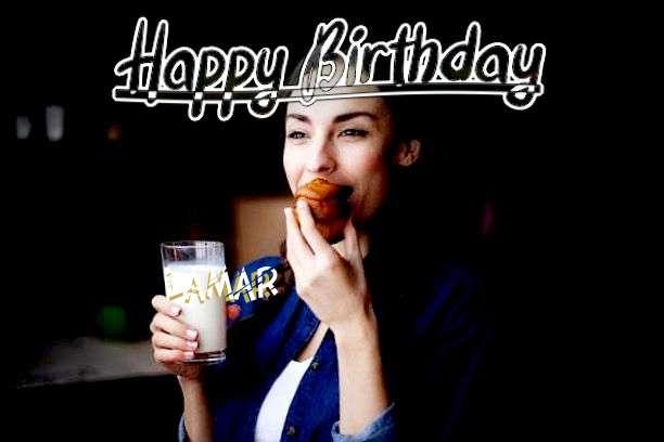 Happy Birthday Cake for Lamar