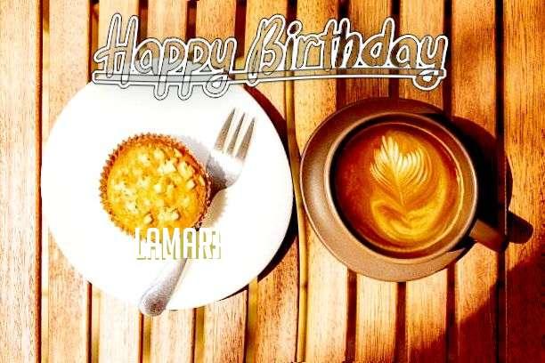 Happy Birthday Lamara Cake Image