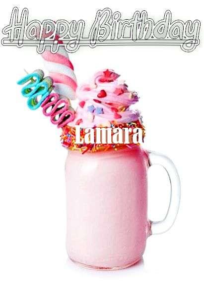 Happy Birthday Wishes for Lamara