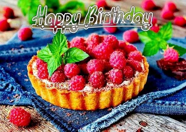 Happy Birthday Lamark Cake Image