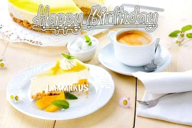 Happy Birthday Lamarkus Cake Image