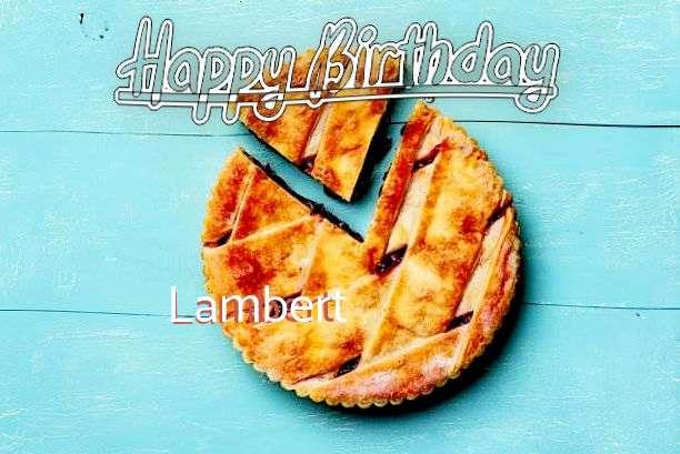 Birthday Images for Lambert