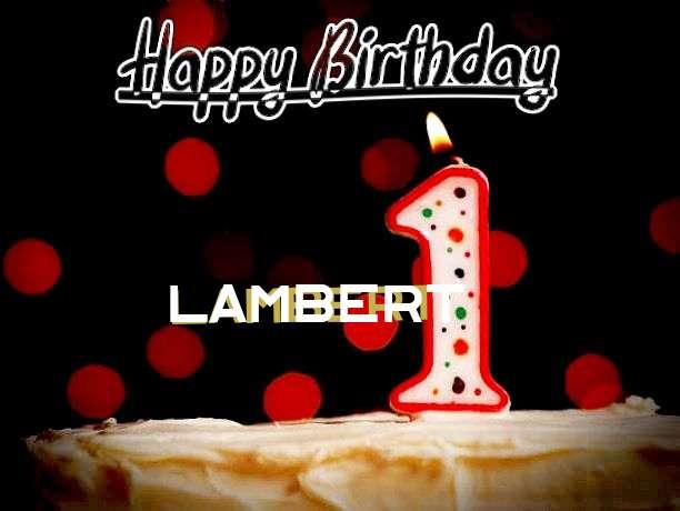 Happy Birthday to You Lambert