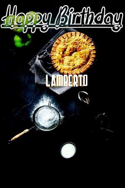 Happy Birthday Lamberto