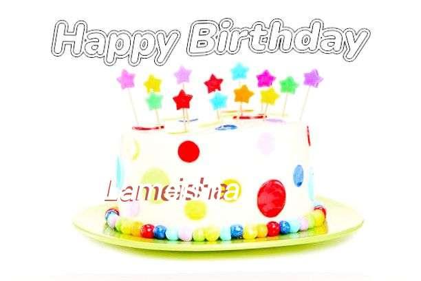 Happy Birthday Cake for Lameisha