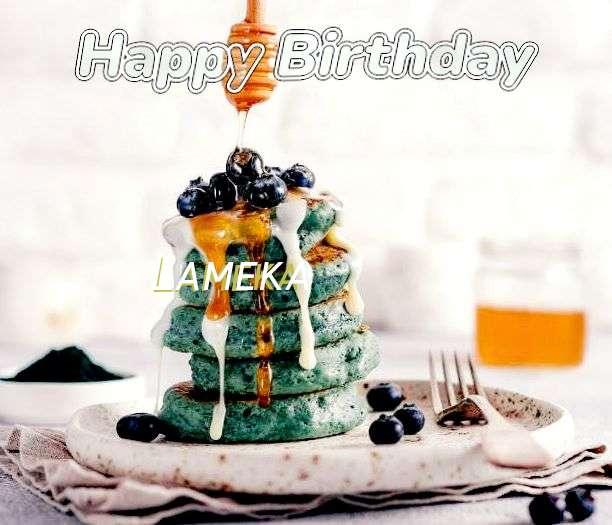 Happy Birthday Lameka