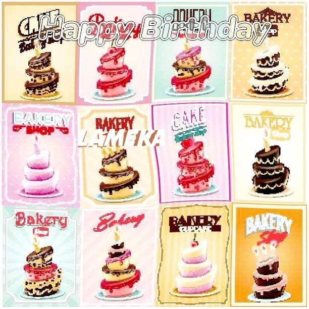 Happy Birthday Wishes for Lameka