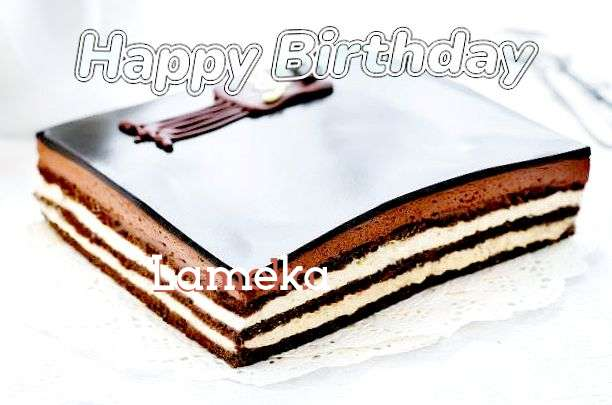 Happy Birthday to You Lameka