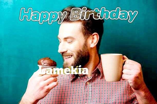 Happy Birthday Wishes for Lamekia