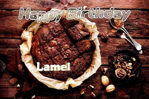 Happy Birthday Cake for Lamel