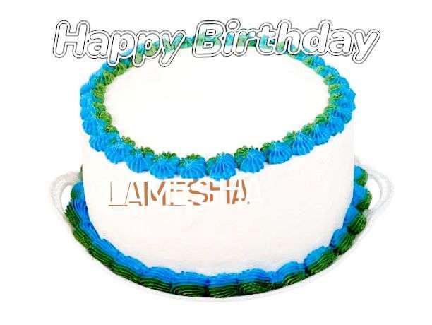 Happy Birthday Wishes for Lamesha