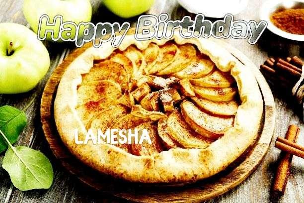 Happy Birthday Cake for Lamesha