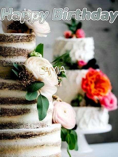 Happy Birthday Lamia
