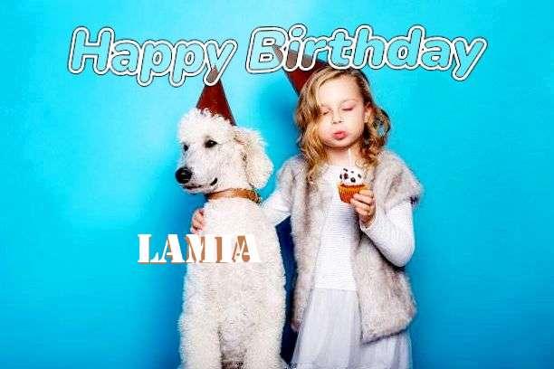 Happy Birthday Wishes for Lamia