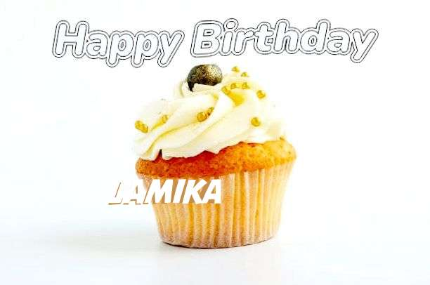 Happy Birthday Cake for Lamika