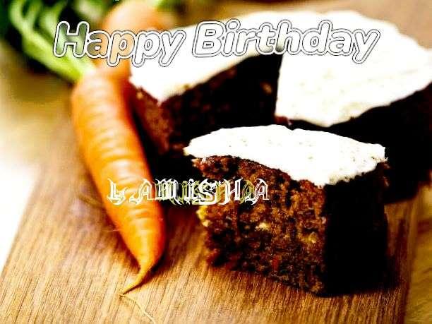 Happy Birthday Wishes for Lamisha