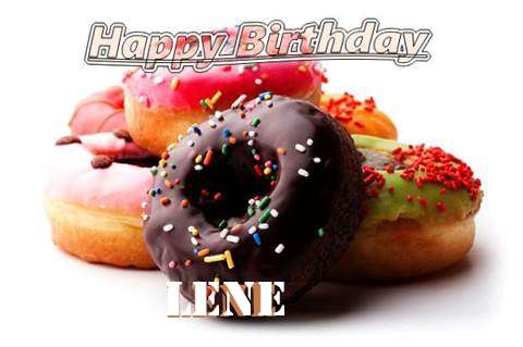Birthday Wishes with Images of Lene