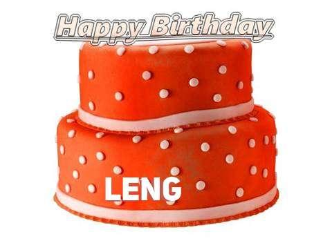 Happy Birthday Cake for Leng