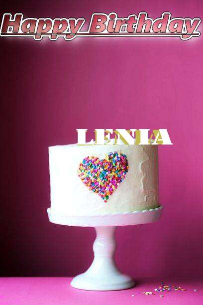 Birthday Wishes with Images of Lenia