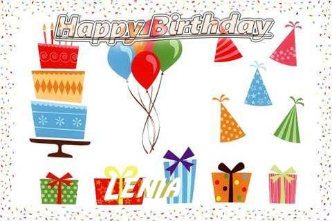 Happy Birthday Wishes for Lenia