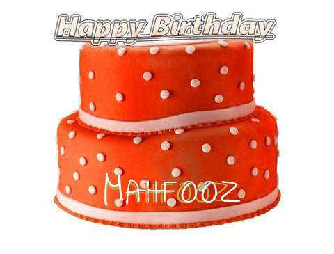 Happy Birthday Cake for Mahfooz