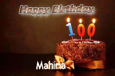 Mahina Birthday Celebration