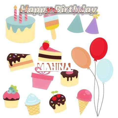 Happy Birthday Wishes for Mahina