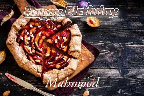 Happy Birthday Mahmood Cake Image