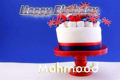 Happy Birthday to You Mahmood