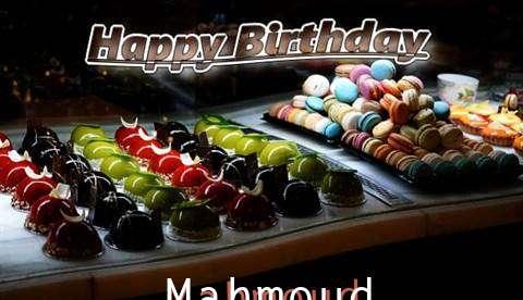Happy Birthday Cake for Mahmoud