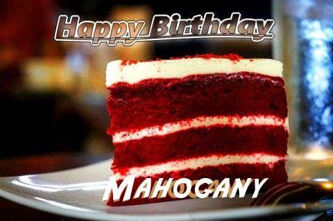 Happy Birthday Mahogany