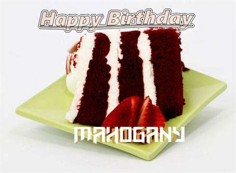 Birthday Wishes with Images of Mahogany