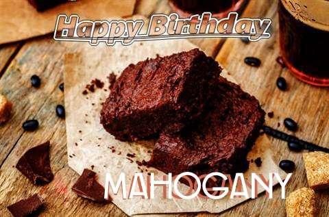 Happy Birthday Mahogany Cake Image