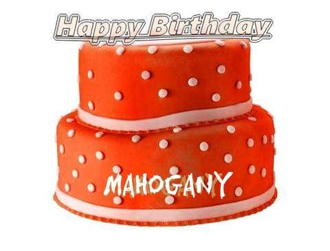 Happy Birthday Cake for Mahogany