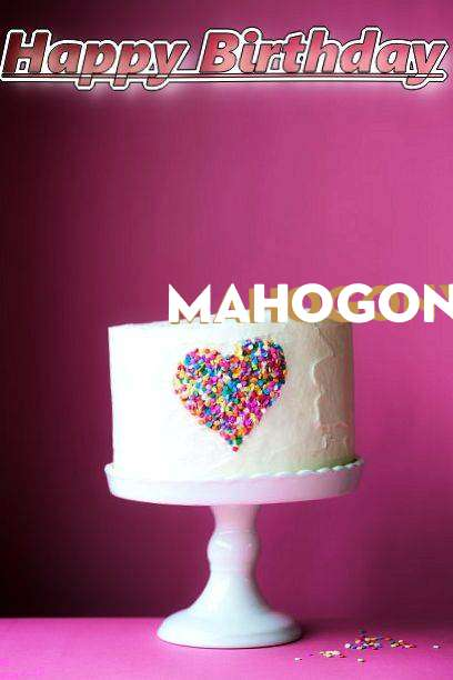 Birthday Wishes with Images of Mahogony