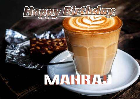 Happy Birthday Mahraj Cake Image