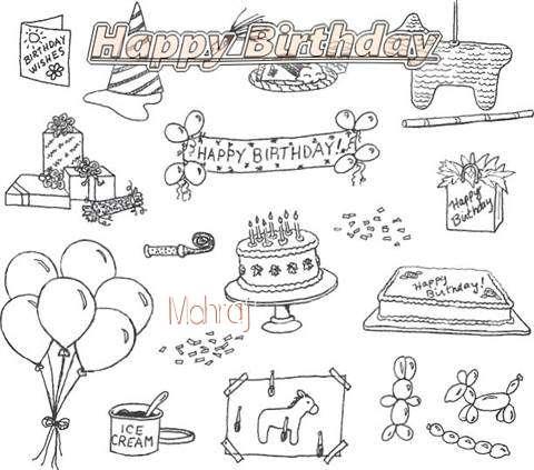 Happy Birthday Cake for Mahraj