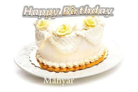 Happy Birthday Cake for Mahyar