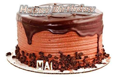 Happy Birthday Wishes for Mai