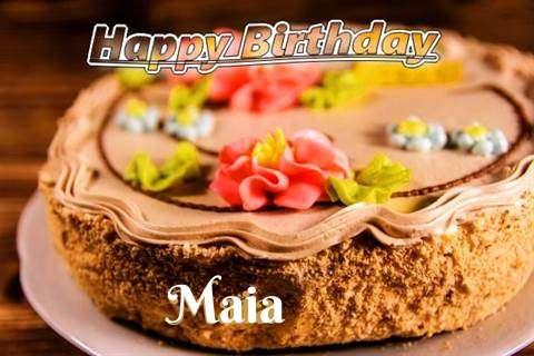 Happy Birthday Maia