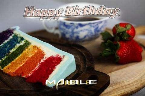 Happy Birthday Maible