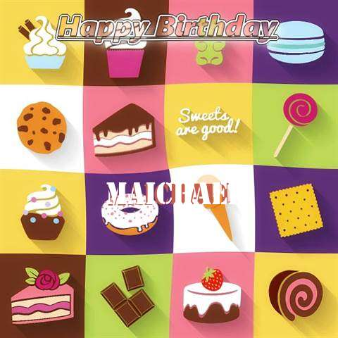 Happy Birthday Wishes for Maichael