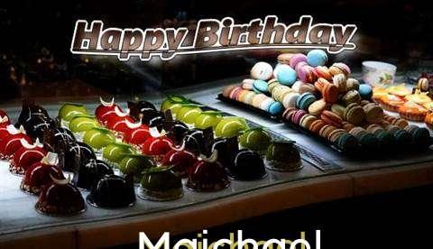 Happy Birthday Cake for Maichael