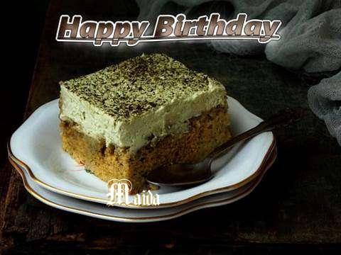 Happy Birthday Maida