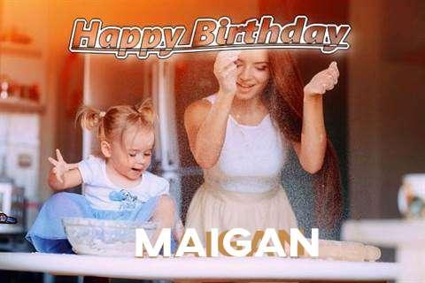 Happy Birthday to You Maigan
